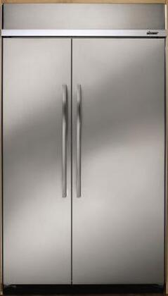 Dacor EF42NBSS Built In Side by Side Refrigerator
