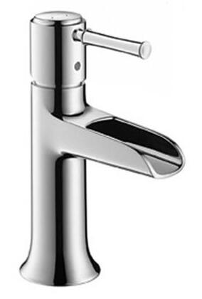 Hansgrohe 14127 Single Hole Bathroom Faucet with Open Spout from the Talis C Series:
