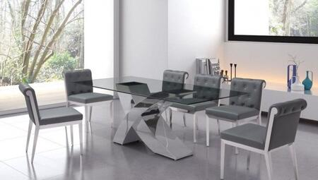 Zuo 100350KIT1 Wave Dining Room Sets