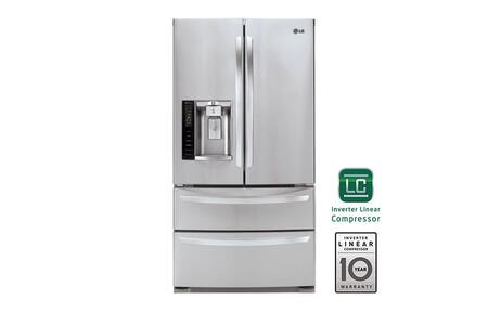 Lg Lmxs27626s 36 Inch French Door Refrigerator In
