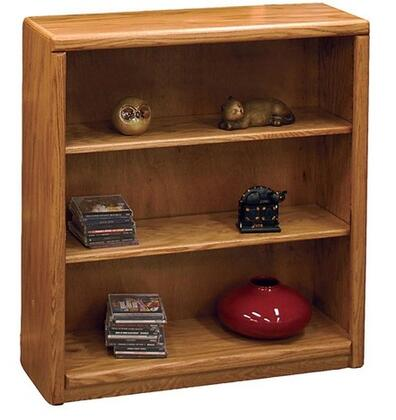 Legends Furniture CC6636LTO Contemporary Series Wood 2 Shelves Bookcase