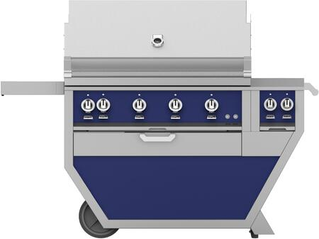 60 in. Deluxe Grill with Side Burner   Lush