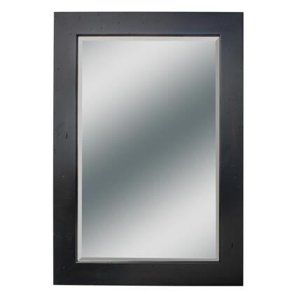 "Kaco Dover Collection 340-2224 22"" x 37"" Small Mirror with Multi-Step Sherwin Williams Finish and Beveled Glass in"