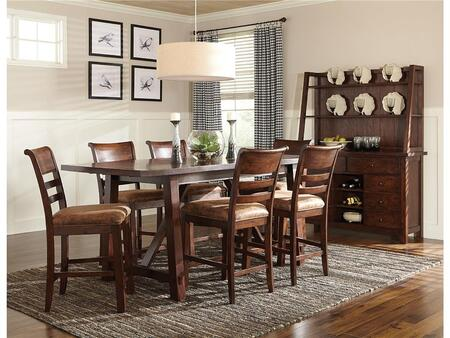 Intercon Furniture BKTA36104789GRPNC Bench Creek Dining Room