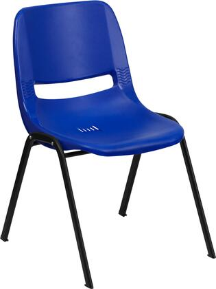 Flash Furniture RUT12NVYBLACKGG Hercules Series  with Metal Frame in Navy and Black