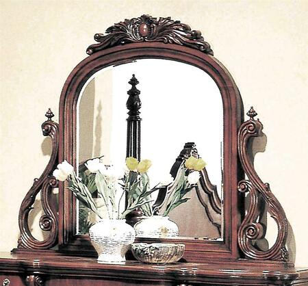 Yuan Tai 5296M Savannah Series Arched Portrait Dresser Mirror