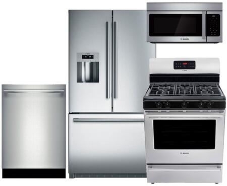 Bosch B26FT70SNS4PCKIT1 800 Kitchen Appliance Packages