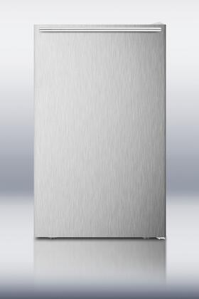 Summit CM405SSHH  Freestanding Counter Depth Compact Refrigerator with 4.1 cu. ft. Capacity, 2 Wire ShelvesField Reversible Doors |Appliances Connection