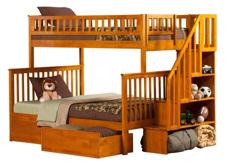 Atlantic Furniture AB56717  Twin over Full Size Bunk Bed