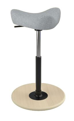 """Varier MOVE SMALL 2700 HALLINGDALE 22"""" - 32"""" Sit-Stand Chair with Hallingdale Upholstery,"""