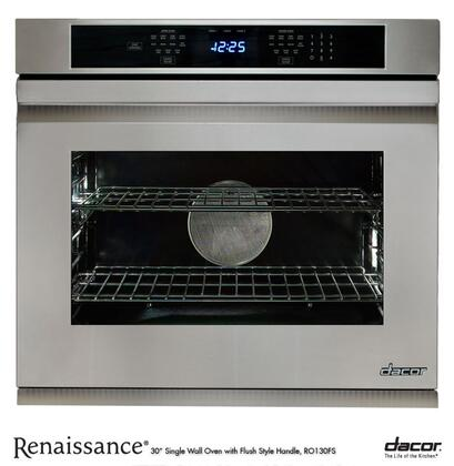 """Dacor RO130FS 30"""" Single Wall Oven, in Stainless Steel with Flush Handle"""