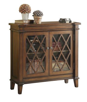 Coaster 950348 Accent Cabinets Series Freestanding Wood None Drawers Cabinet
