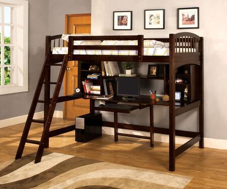 Furniture of America CMBK263BED Dutton Series  Twin Size Bed