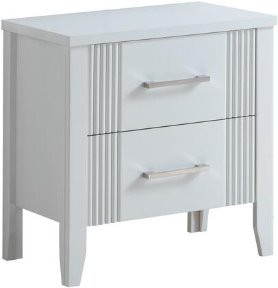 Glory Furniture G5375N Portland Series Square Wood Night Stand