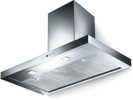 Faber BELA3xSS600B Wall Chimney Hoods with 600 CFM, Electronic Controls, Pro Motor, 24 Hour Anti-Pollution Mode and Dishwasher Safe Stainless Steel Mesh, in Stainless Steel