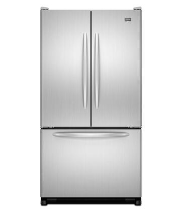 Maytag MFC2061KES  Counter Depth French Door Refrigerator with 19.6 cu. ft. Total Capacity 5 Glass Shelves |Appliances Connection