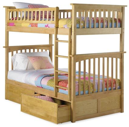 Atlantic Furniture AB55115  Twin Size Bunk Bed