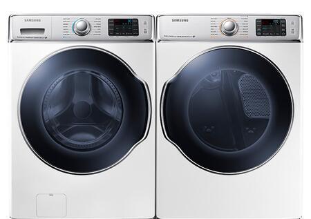Samsung Appliance SAM2PCFL30EWKIT1 9100 Washer and Dryer Com