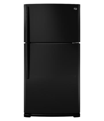 Maytag M1BXXGMYB  Freestanding Top Freezer Refrigerator with 20.5 cu. ft. Total Capacity 2 Glass Shelves 5.7 cu. ft. Freezer Capacity
