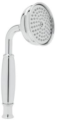 """Rohl 1101/8 3"""" Circular Anti-Cal Handshower with 2 GPM Flow Rate, Brass Handle and Single-Function Spray Pattern in"""