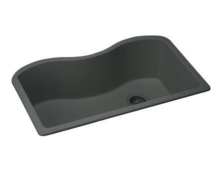 "Elkay ELGUS3322 Harmony e-Granite 33"" Single Basin Undermount Kitchen Sink"