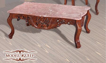 Meridian 231PC Cherry Traditional Table