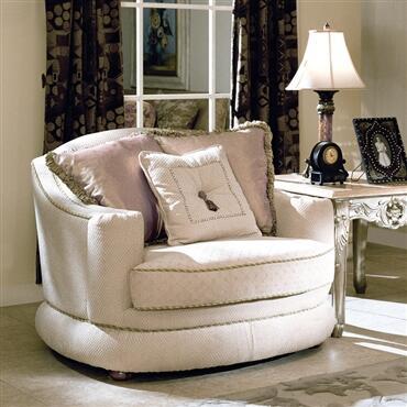 Yuan Tai TT8500C Titleist Series Fabric Chair with Wood Frame