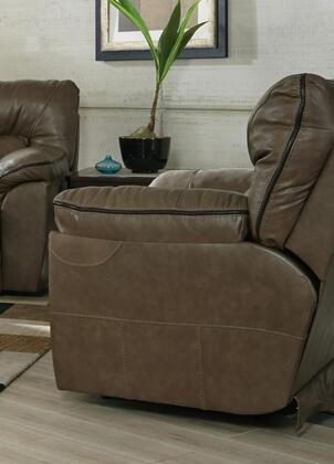 Catnapper 43407128318308318128309 Milan Series Leather Metal Frame  Recliners