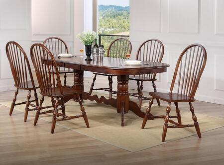 Sunset Trading DLUADW4296C30CT7PC Andrews Dining Room Sets