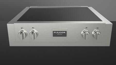 "Fulgor Milano F6IRT304S1 30"" 600 Series 4 Element Yes Cooktop, in Stainless Steel"