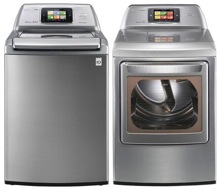 LG 345267 Washer and Dryer Combos