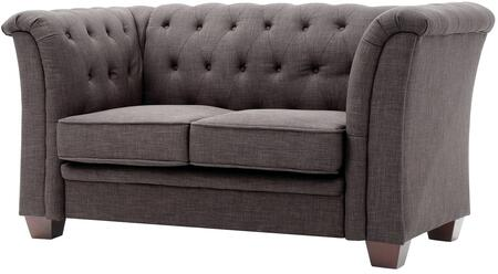 Glory Furniture G325L Fabric Stationary Loveseat