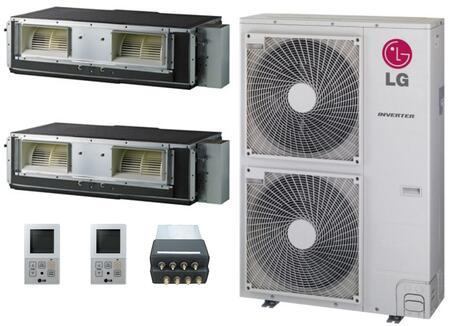 LG 705369 Dual-Zone Mini Split Air Conditioners