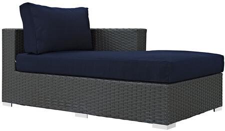 """Modway EEI1859CHCNAV 63"""" Water Resistant Lounge Chair"""