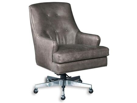 Hooker Furniture EC452-CH-0 Triton Series Transitional-Style Home Office Chair with Adjustable Seat and Arm Height