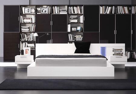 VIG Furniture VGWCALASKAQ Modrest Alaska Series  Queen Size Bed