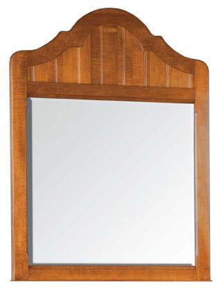 Durham 105189WORL Bayview Series Arched Portrait Dresser Mirror