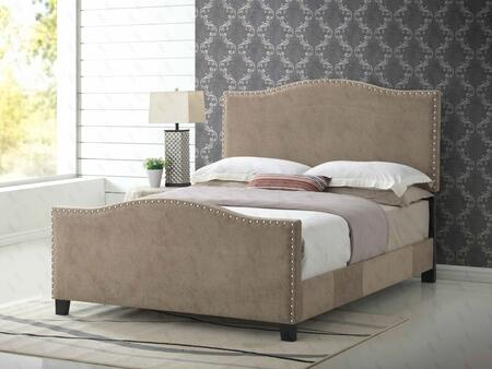Glory Furniture G2571QBUP G2570 Series  Queen Size Panel Bed