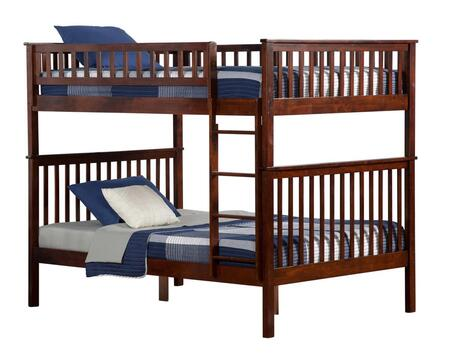 Atlantic Furniture AB565 Woodland Bunk Bed Full Over Full