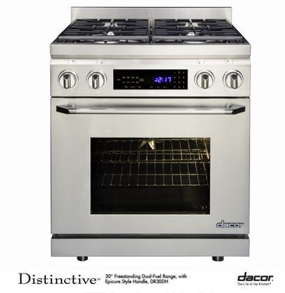 "Dacor DR30DNGH 30"" Distinctive Series Gas Freestanding"