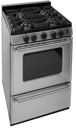 "Premier P24B3x02PS 24"" Pro Series Gas Range"
