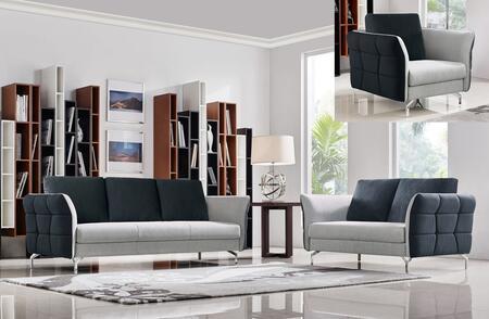 VIG Furniture VGMB1610 Modern Fabric Living Room Set
