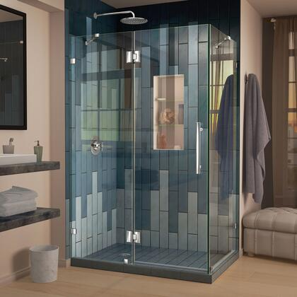 DreamLine Quatra Lux Shower Enclosure RS25 01 Left Drain