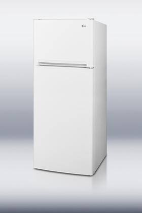 Summit FF1274 Freestanding Top Freezer Refrigerator with 11.8 cu. ft. Total Capacity 3 Wire Shelves