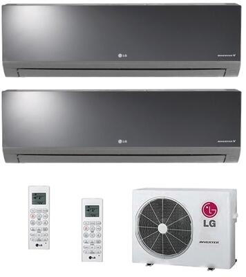 LG 730298 Dual-Zone Mini Split Air Conditioners