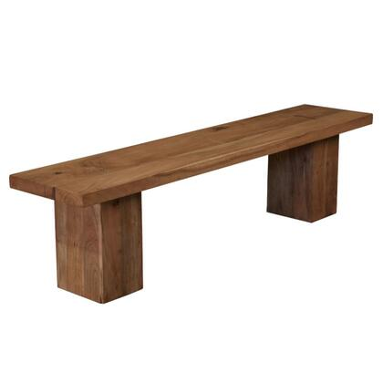 Home Trends & Design FTOBN72N Accent  Wood Not Upholstered Bench