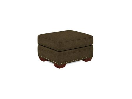 "Broyhill Cambridge Collection 5054-5QX 32"" Ottoman with Fabric Upholstery, Nail Head Trim and Casual Style"
