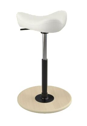 """Varier MOVE SMALL 2700 HALLINGDALE 26"""" - 34"""" Sit-Stand Chair with Hallingdale Upholstery,"""