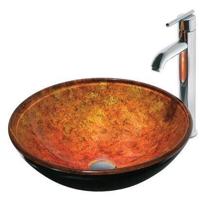 Vigo VGT114 Chrome Bath Sink