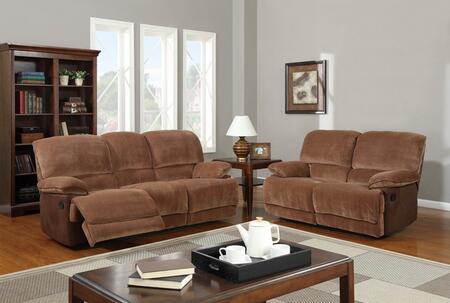 Global Furniture USA U9968ChmpBrSugarMF101SL Living Room Set